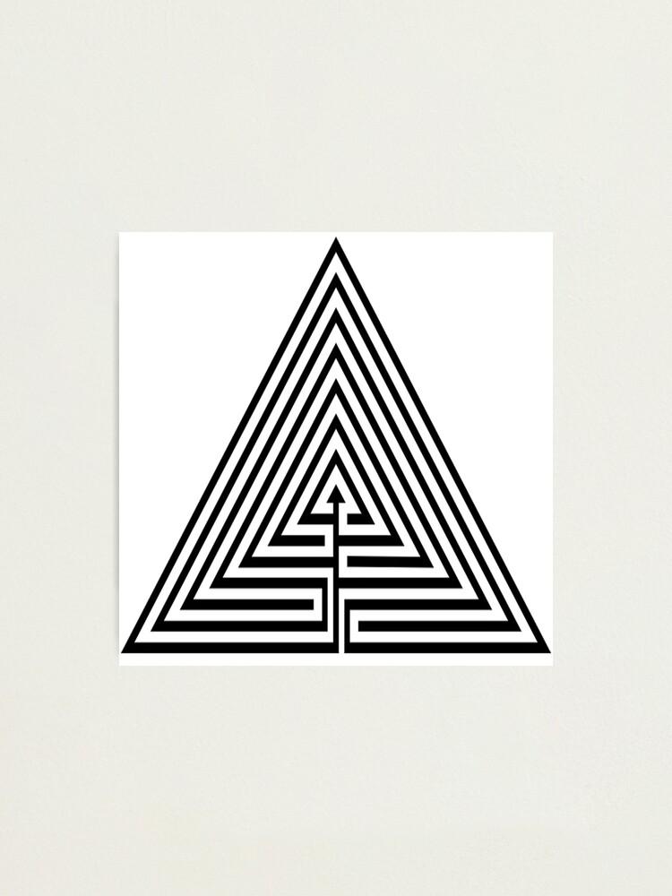 Alternate view of #Maze, #лабиринт, #путаница, #labyrinth, безвыходное положение, трудное положение, intricacy Photographic Print