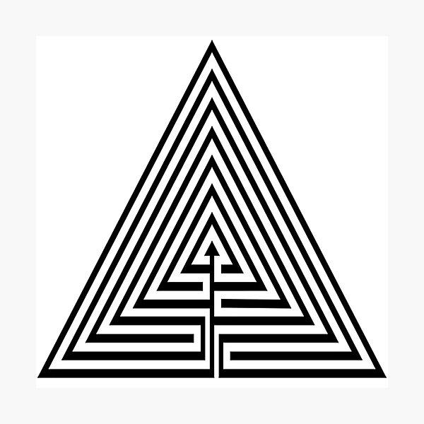 #Maze, #лабиринт, #путаница, #labyrinth, безвыходное положение, трудное положение, intricacy Photographic Print