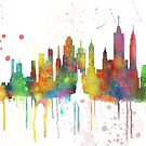 New York, NY Skyline von Marlene Watson