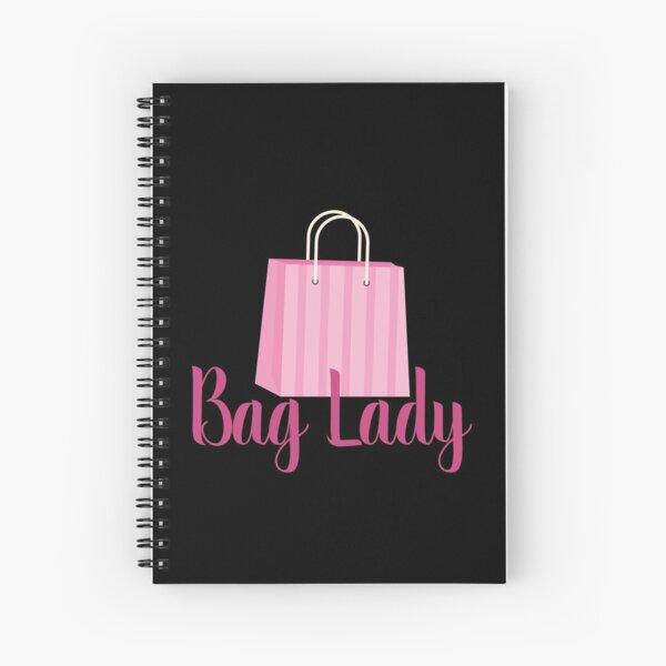Bag Lady Spiral Notebook