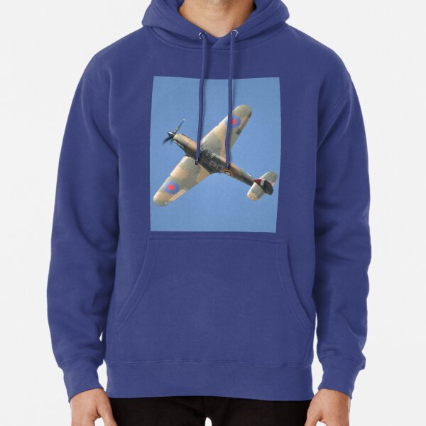 Hunter Valley Airshow 2019 - Hurricane Climbing Banked Pullover Hoodie