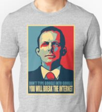 Tony Abbott's is one tech savvy dude Unisex T-Shirt