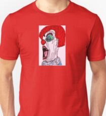 THE SCREAMING CLOWN Unisex T-Shirt