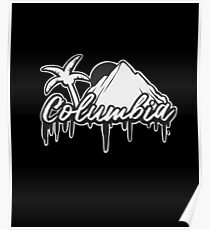 Colombia Medellin Bogota Poster