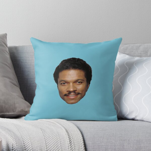 Billy Dee Williams Throw Pillow