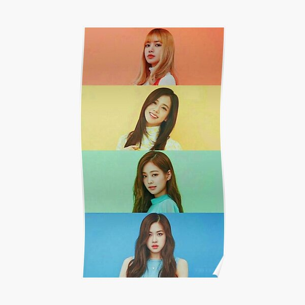 Beautiful Rainbow Girls Poster