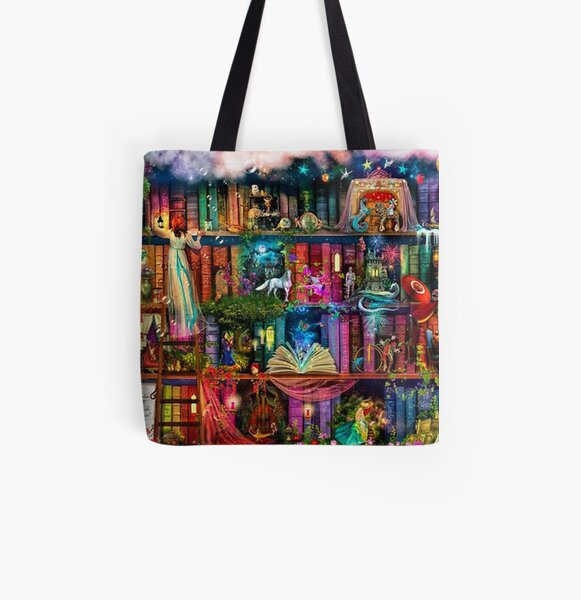 Whimsy Trove - All Over Print Tote Bag