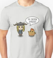 """The Chicken Approves"" HTTYD Race to the Edge Unisex T-Shirt"