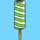 Spiral Ice Lolly by Adam Regester