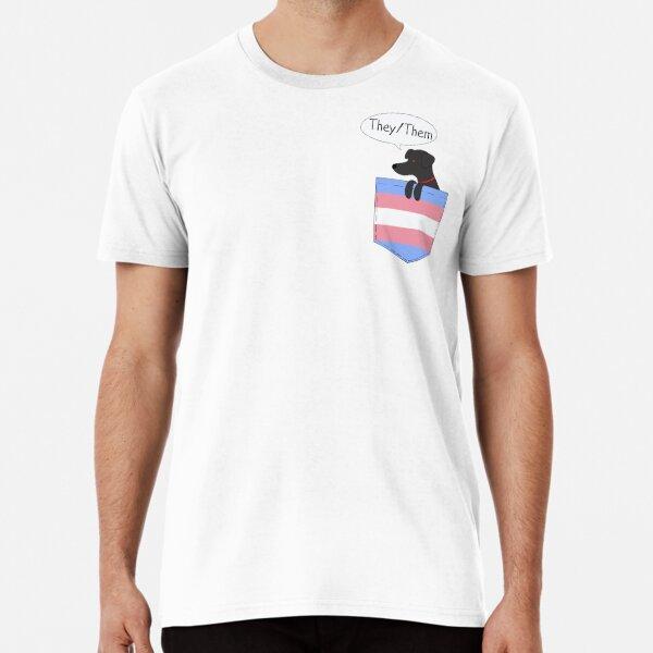 Combo Pronouns Tee: They/Them  Premium T-Shirt