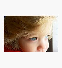 Micah Dectur - My Very Own Little Man Photographic Print
