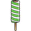 Spiral Twister Ice Lolly by Adam Regester