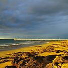 Point Lonsdale Jetty by Clive