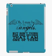 Side of the Angels iPad Case/Skin