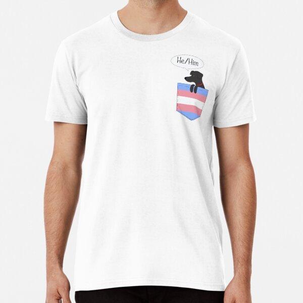 Combo Pronouns Tee: He/Him  Premium T-Shirt