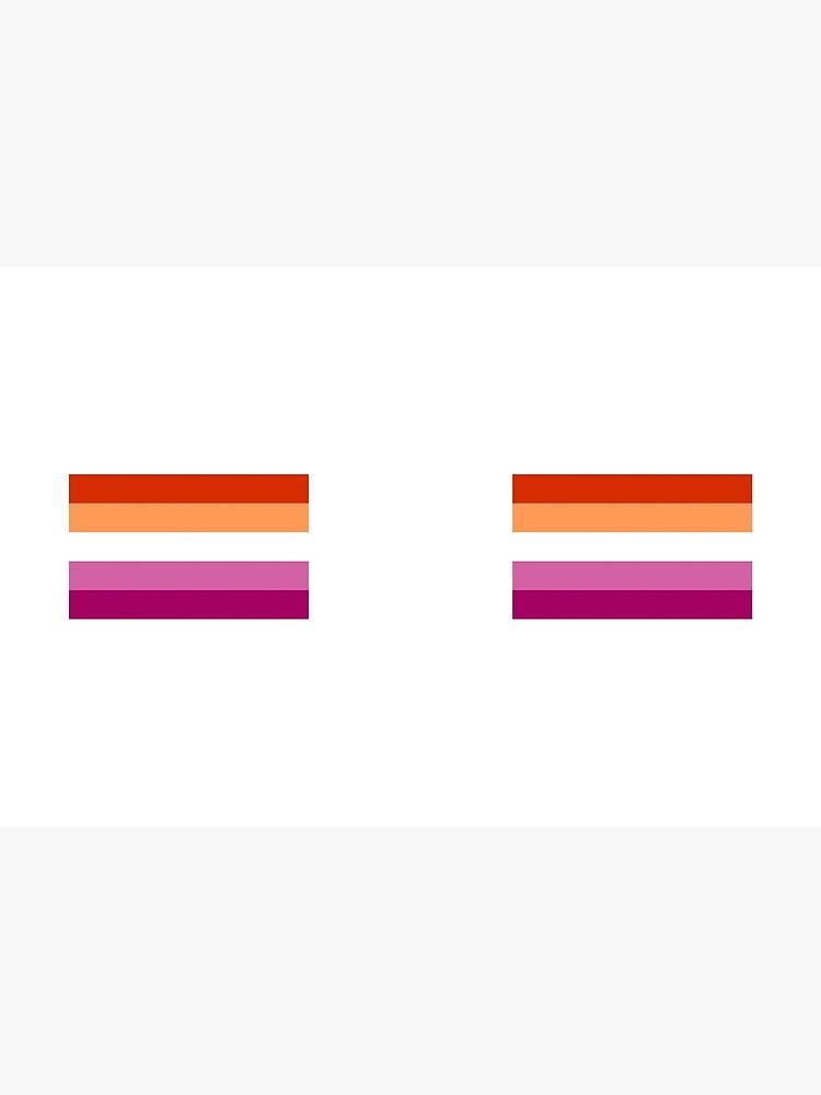 Nueva bandera lesbiana de baiiley