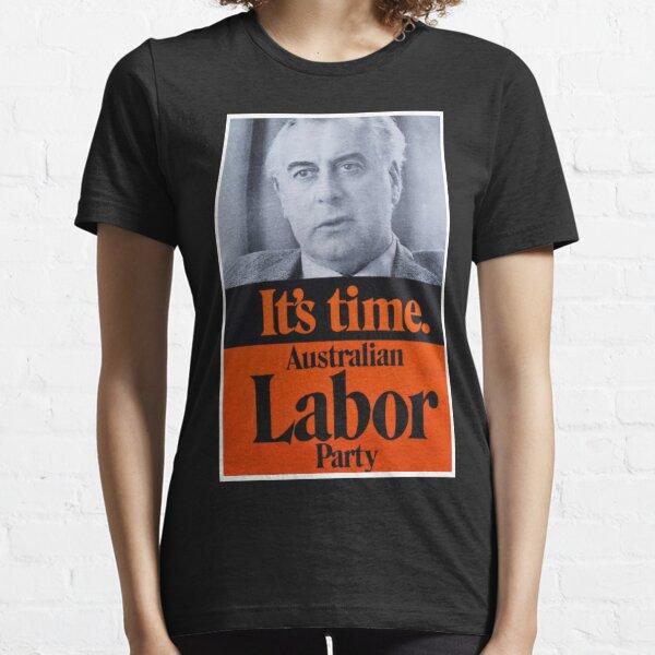 GOUGH WHITLAM - IT'S TIME Essential T-Shirt