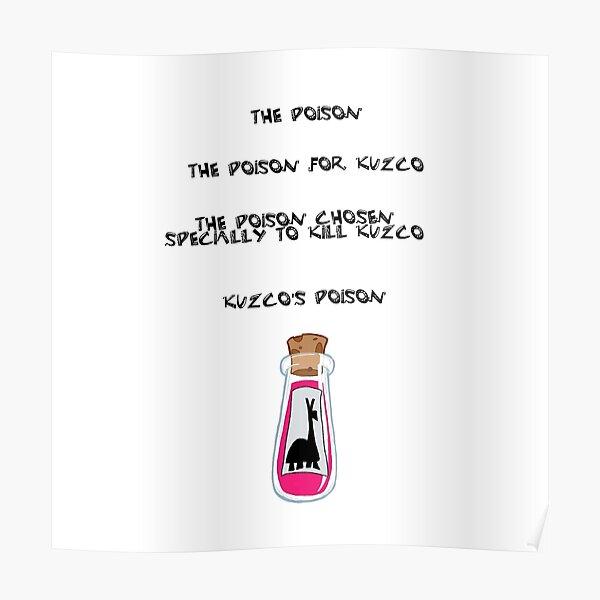 Kuzcos poison Poster