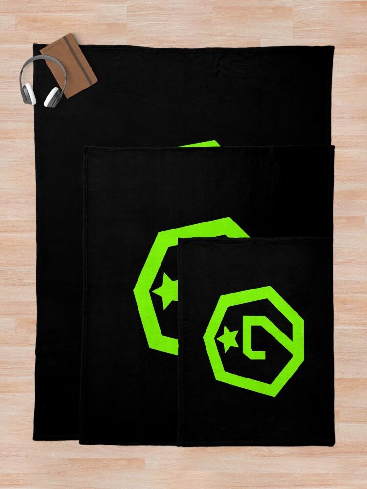 Alternate view of KPOP GOT7 OFFICIAL LOGO T-SHIRT/ HOODIE/ CASE/ MUG/ BAG Throw Blanket