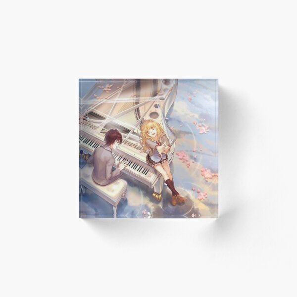 Your lie in april  Acrylic Block