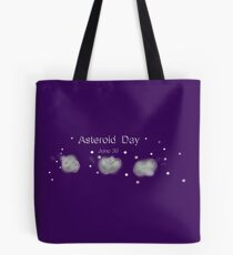 Asteroidday Tote Bag