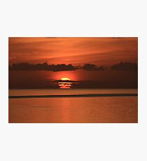 Sunset Florida Keys Photographic Print