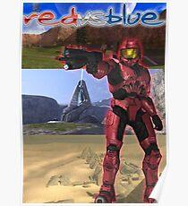 Red Vs Blue Sarge Poster