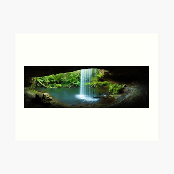 Kalimna Falls, Otways National Park, Australia Art Print