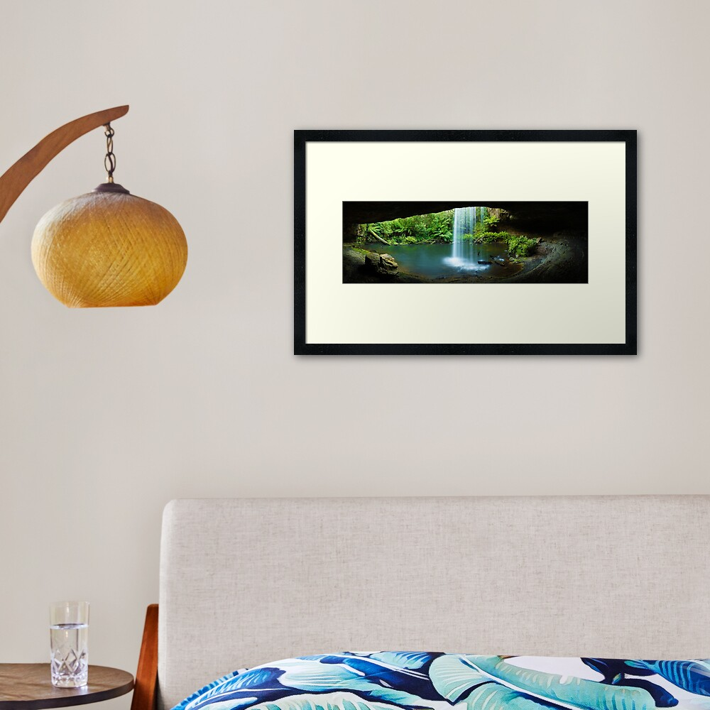Kalimna Falls, Otways National Park, Australia Framed Art Print