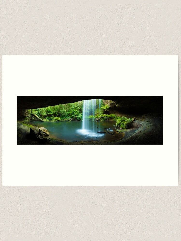 Alternate view of Kalimna Falls, Otways National Park, Australia Art Print