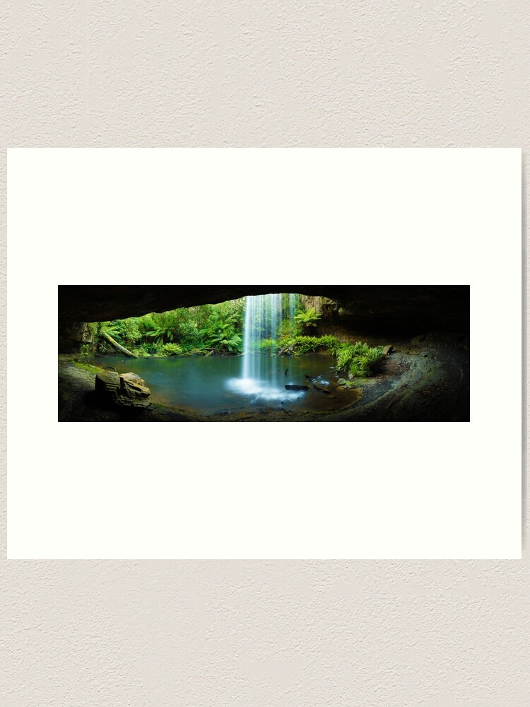 Alternate view of Kalimna Falls, Otways National Park, Australia Art Print