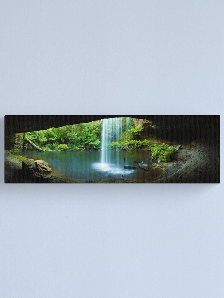 Alternate view of Kalimna Falls, Otways National Park, Australia Canvas Print