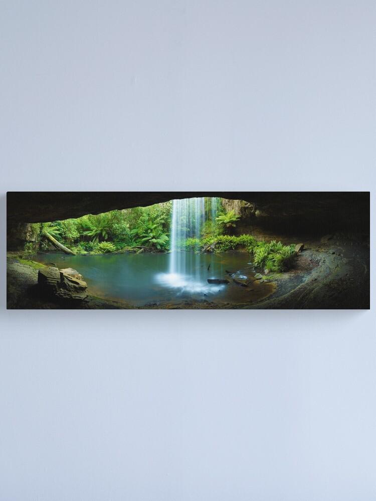 Alternate view of Kalimna Falls, Otways National Park, Australia Canvas Print