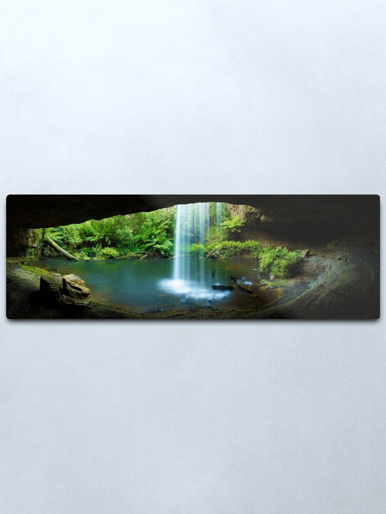Alternate view of Kalimna Falls, Otways National Park, Australia Metal Print