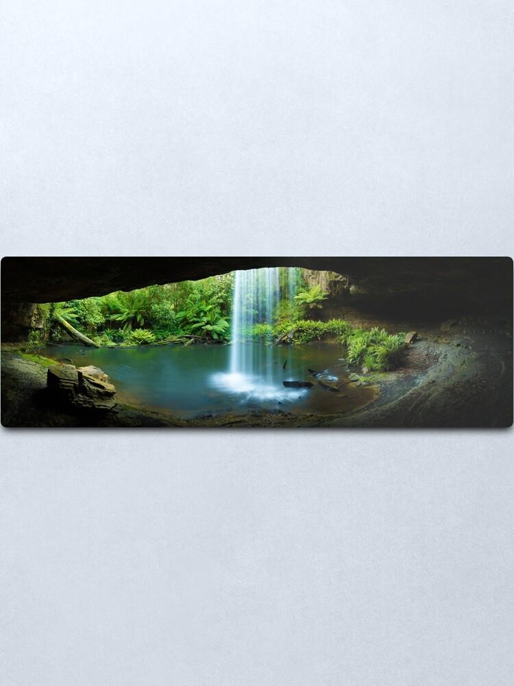 Alternate view of Kalimna Falls, Otways National Park, Australia Metal Print