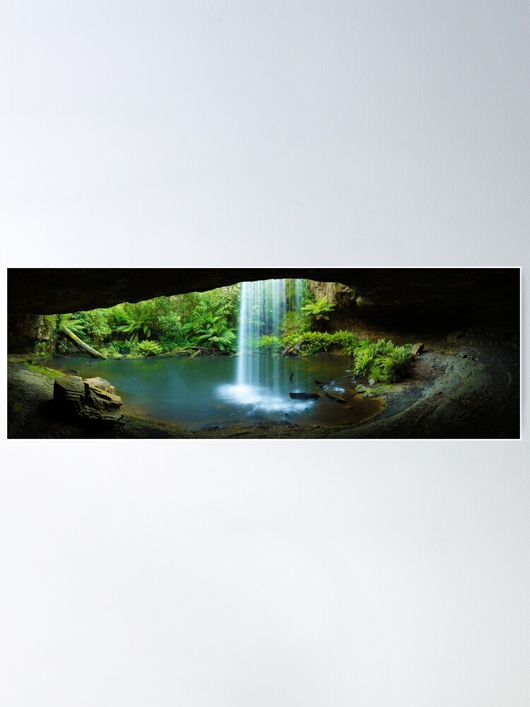 Alternate view of Kalimna Falls, Otways National Park, Australia Poster