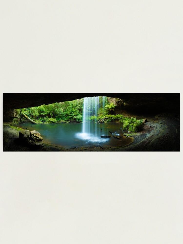 Alternate view of Kalimna Falls, Otways National Park, Australia Photographic Print