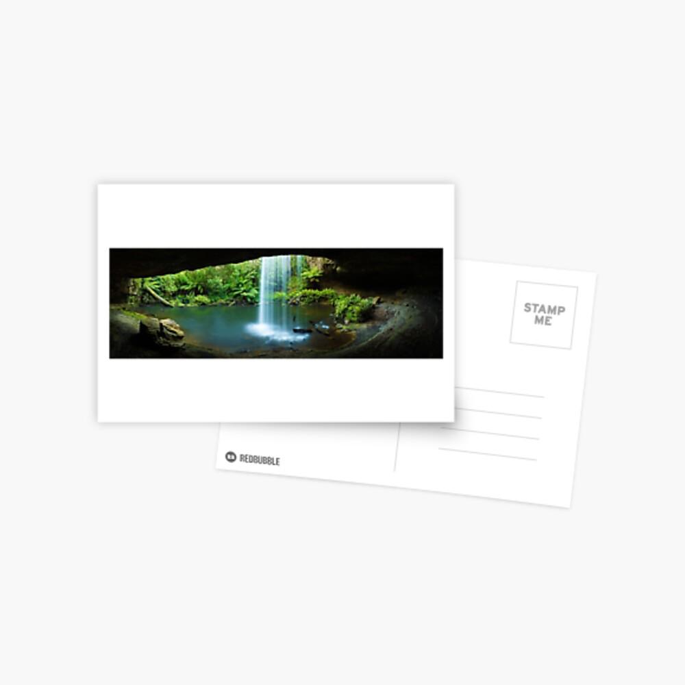 Kalimna Falls, Otways National Park, Australia Postcard