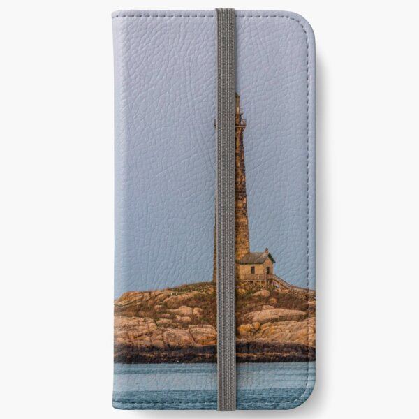 Moon lite mirage and the north tower iPhone Wallet
