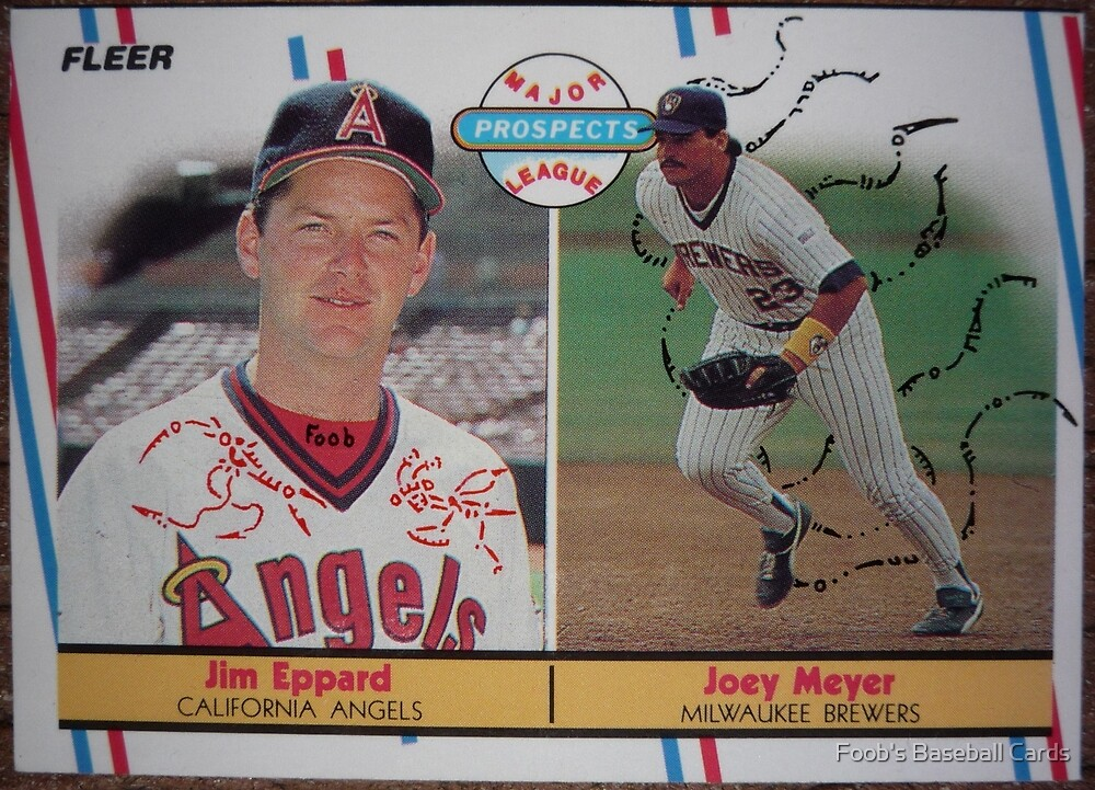 478 - Jim Eppard | Joey Meyer by Foob's Baseball Cards