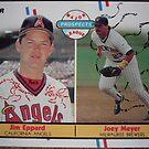 478 - Jim Eppard | Joey Meyer by Foob's Baseball Cards