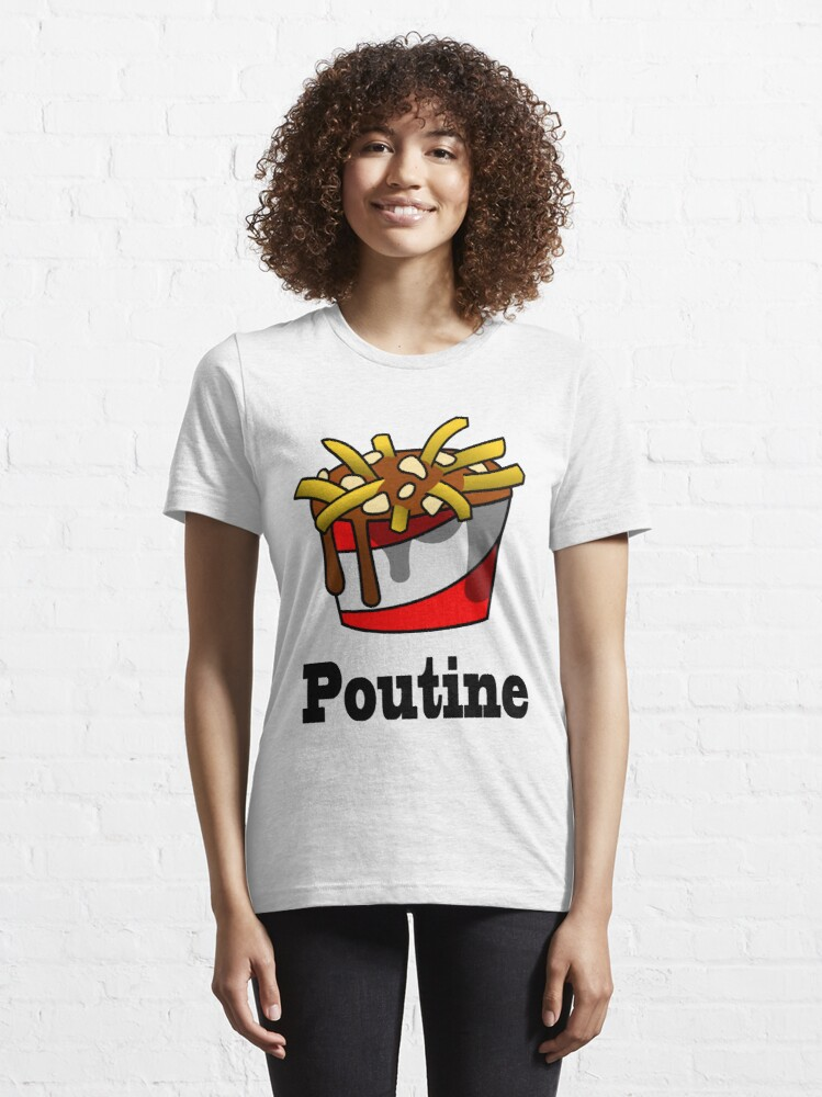Alternate view of The Greasy Poutine Essential T-Shirt