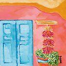 Blue Door by Daedre Ross