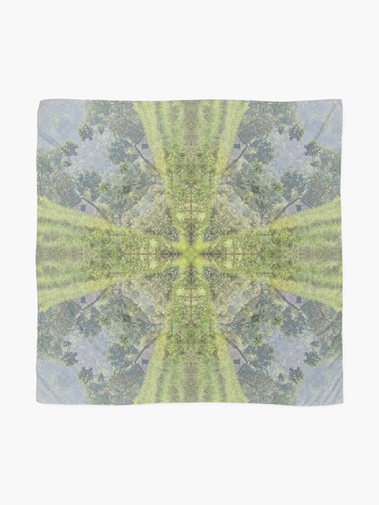 Alternate view of RICE FIELD AND BARN IN NEPAL Scarf