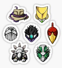 Stardust Crusaders Collection (Medium stickers recommended) Sticker