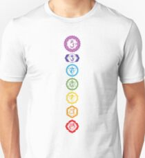 Chakras - The 7 Centers of Force Slim Fit T-Shirt