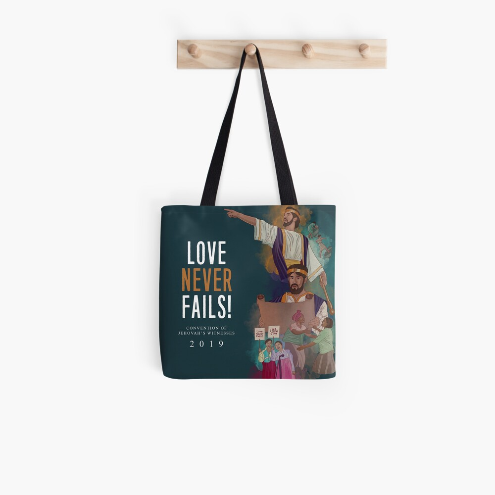 LOVE NEVER FAILS! (JOSIAH) ENGLISH Tote Bag