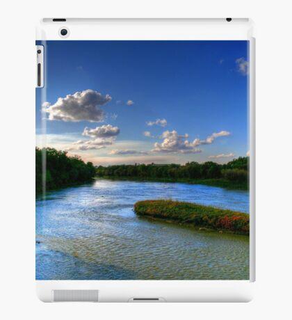 Silence on the River  iPad Case/Skin