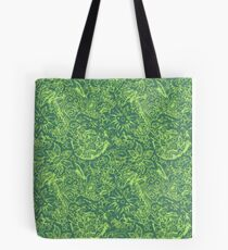 Emerald Dales Loden Wool Tote Bag