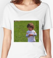 A CHILDS WORLD Women's Relaxed Fit T-Shirt